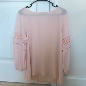 Pink blouse from the loft